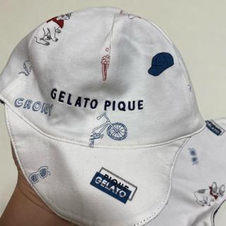 ジェラートピケ(gelato pique)の❸新品 gelato pique 帽子 (帽子)