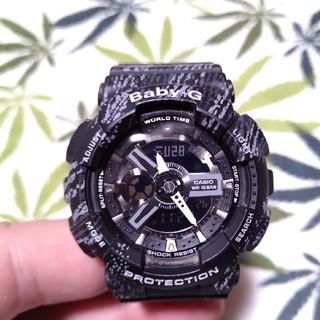 ベビージー(Baby-G)のCASIO Baby-G ba-110tx ジーショック ミストテクスチャー(腕時計)