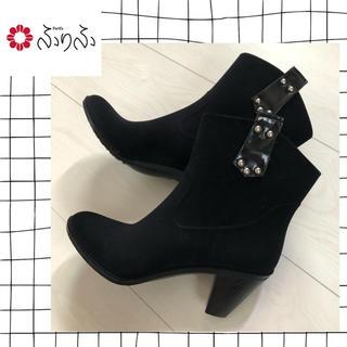 フリフ(ふりふ)の専用※ふりふ♡レインブーツ 黒(レインブーツ/長靴)