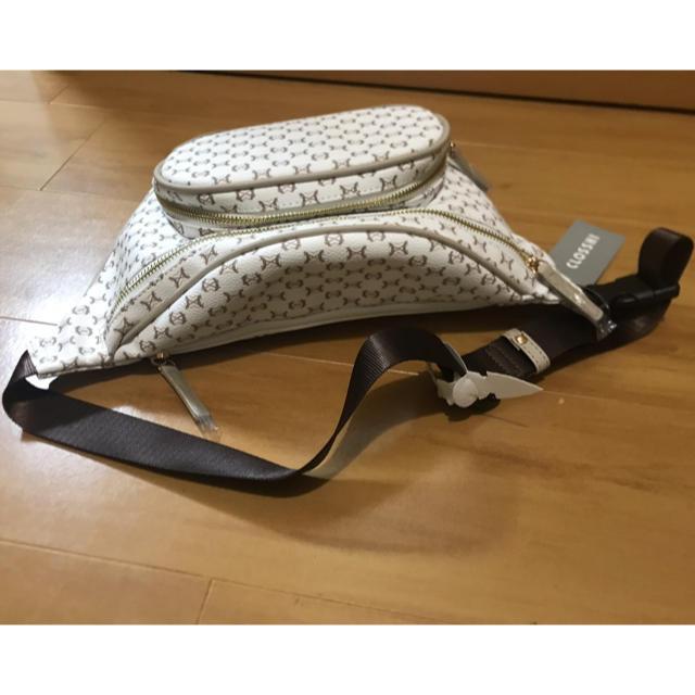 しまむら(シマムラ)のしまむら マカダム柄 ショルダーバッグ レディースのバッグ(ショルダーバッグ)の商品写真