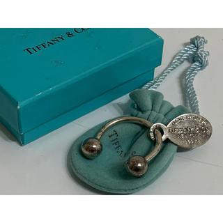 ティファニー(Tiffany & Co.)のティファニー リターントゥ オーバルタグ キーリング キーホルダー SV925(キーホルダー)