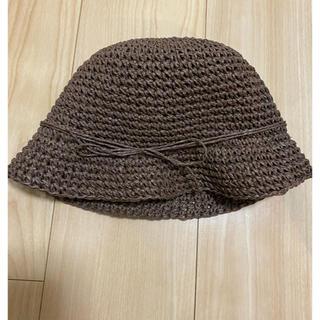 MUJI (無印良品) - 無印良品 子供用 麦わら帽子 ハット
