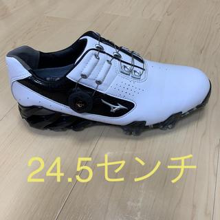 MIZUNO - ミズノゴルフシューズ ジェネム005ボア 24.5 4E