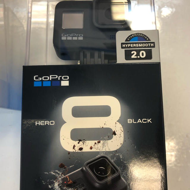 GoPro(ゴープロ)のgopro hero8 black スマホ/家電/カメラのカメラ(コンパクトデジタルカメラ)の商品写真