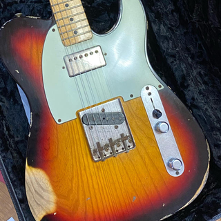 フェンダー(Fender)のfender custom shop tele HB (heavy relic)(エレキギター)