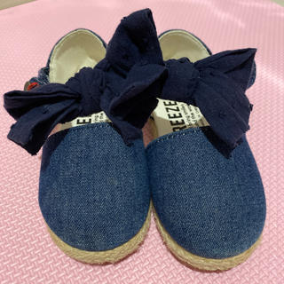 ブリーズ(BREEZE)の子供靴 サンダル 女の子 14cm  BREEZE (サンダル)