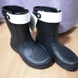クロックス(crocs)の【新品】crocs クロックス レインブーツ 長靴(長靴/レインシューズ)