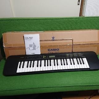 カシオ(CASIO)のCASIO CTK-240 キーボード 電子ピアノ(電子ピアノ)