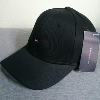 TOMMY HILFIGER - 新品タグ付き トミーヒルフィガー 帽子 ブラック