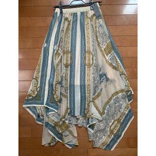 JEANASIS - JEANASIS スカーフ風 スカート