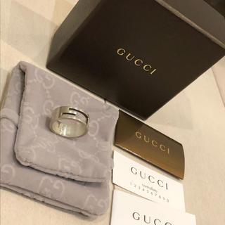 Gucci - GUCCI リング グッチ リング 17号 SV925 ブランデッドレギュラーG