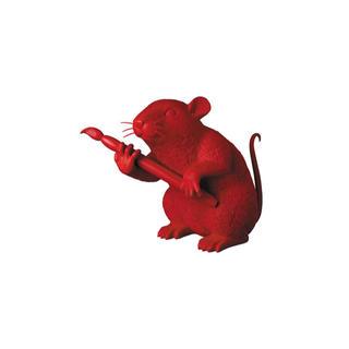 メディコムトイ(MEDICOM TOY)のLOVE RAT (RED ver.) BANKSY メディコムトイ 入手困難(その他)