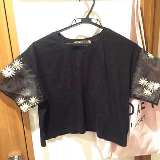 ハニーミーハニー(Honey mi Honey)のdaisyトップ(Tシャツ(半袖/袖なし))