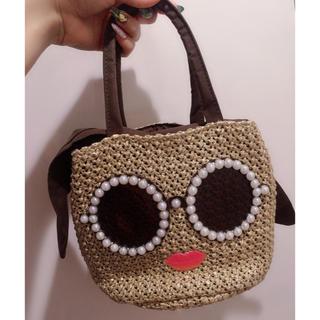 アリスアンドオリビア(Alice+Olivia)の美品❤パールサングラス バッグ パーティーバッグ 顔バッグ(ハンドバッグ)