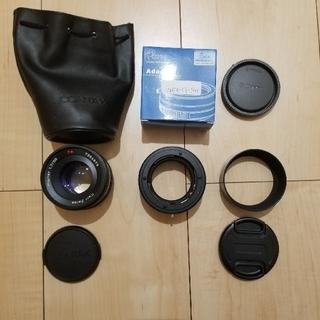 キョウセラ(京セラ)のCONTAX Planar 1.7/50(レンズ(単焦点))