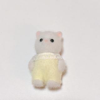 エポック(EPOCH)のシルバニアファミリー ペルシャネコの赤ちゃん 黄色 (ぬいぐるみ/人形)
