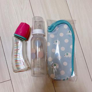 ベッタ(VETTA)のBetta  nuk 哺乳瓶 2点 哺乳瓶 ケース 3点セット(哺乳ビン)