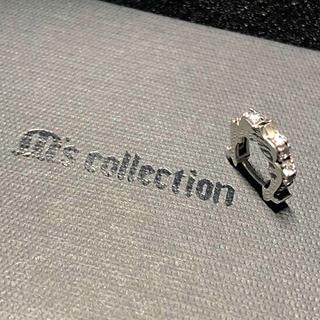 エムズコレクション(M's collection)のM's collection 片耳 ピアス シルバー925 エムズコレコション(ピアス(片耳用))