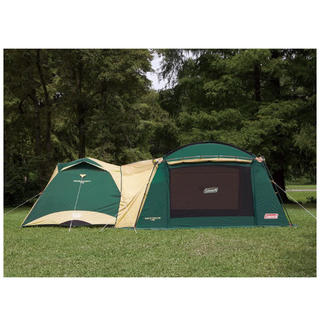 コールマン(Coleman)のコールマンテントタフワイドドームIV ワイドエアスクリーン400 キャンプセット(テント/タープ)