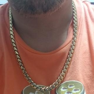 アヴァランチ(AVALANCHE)の炎上価格 アバランチ 10K マイアミ ネックレス ヒップホップ ラッパー (ネックレス)