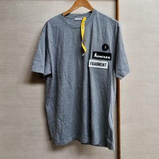 モンクレール(MONCLER)のMONCLER fragment グレーTシャツ(Tシャツ/カットソー(半袖/袖なし))