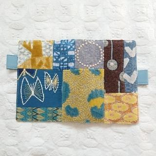 mina perhonen - ほぼ日×ミナペルホネン/オリジナル 手帳カバー piece, blue mix