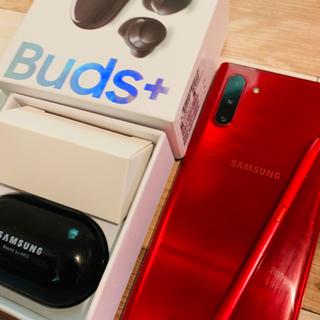 SAMSUNG - 本日締切 Galaxy Note10 5G Red 256GB SIMフリー