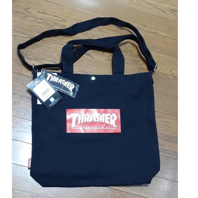 THRASHER(スラッシャー)のTHRASHER スラッシャー 2WAY ショルダー トート バック   メンズのバッグ(ショルダーバッグ)の商品写真