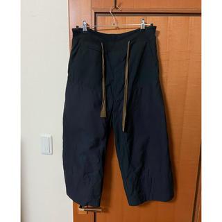Ziggy Chen wide cropped Trousers(サルエルパンツ)