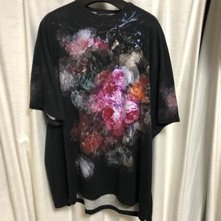 ラッドミュージシャン(LAD MUSICIAN)のLAD MUSICIAN Tシャツ 花柄 46(Tシャツ/カットソー(半袖/袖なし))