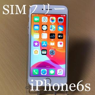 アイフォーン(iPhone)のiPhone6s Silver 16GB SIMフリー 本体 動作品(スマートフォン本体)
