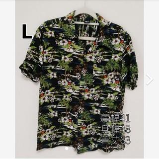 Disney - GEᖇIᖇᗩ's shop☆*° Disneyアロハシャツ サイズL