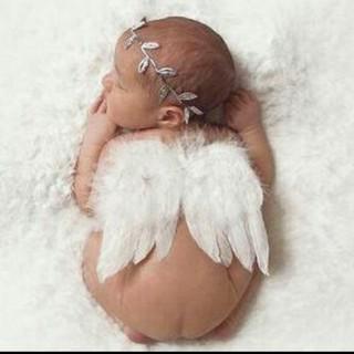 天使の羽 ニューボーンフォト