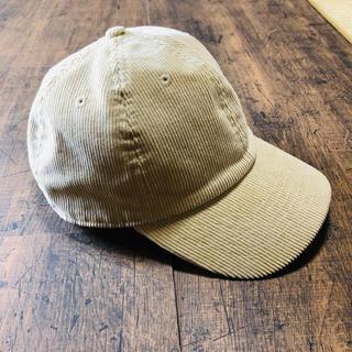 アーバンリサーチ(URBAN RESEARCH)のコーデュロイキャップ 帽子(キャップ)