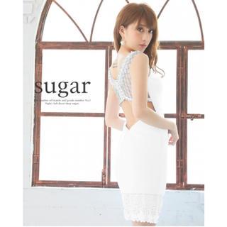 AngelR - Angel R ビジューデザイン背中開きドレス