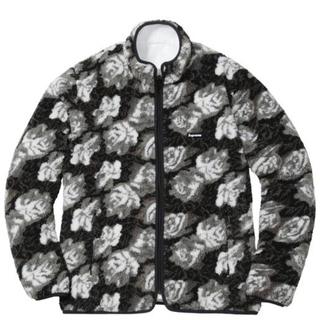 Supreme - Supreme 16FW Roses Sherpa Fleece Lサイズ