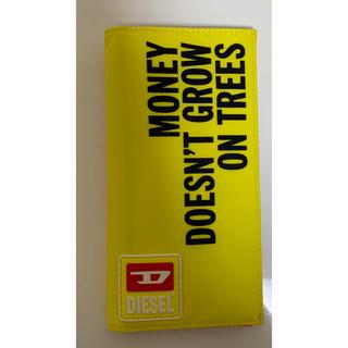 ディーゼル(DIESEL)のDIESEL  ディーゼル 財布 イエロー 新品未使用(長財布)