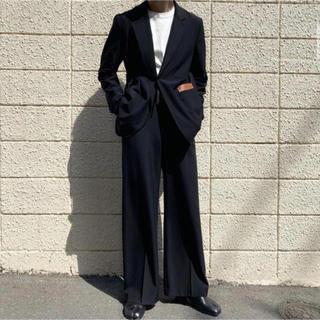 サンシー(SUNSEA)のSUNSEA 19SS SNM-BLUE straight pants(スラックス)