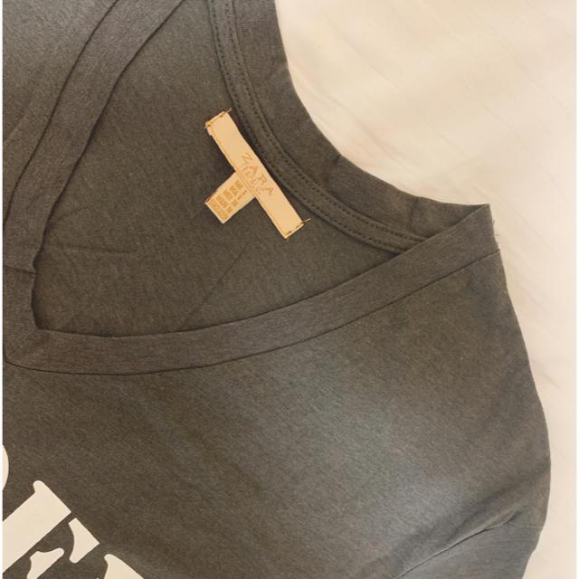 ZARA(ザラ)の本日処分/新品 ZARA Tシャツ レディースのトップス(Tシャツ(半袖/袖なし))の商品写真