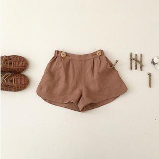 Caramel baby&child  - soor ploom ss20 ショートパンツ 4-5y moth