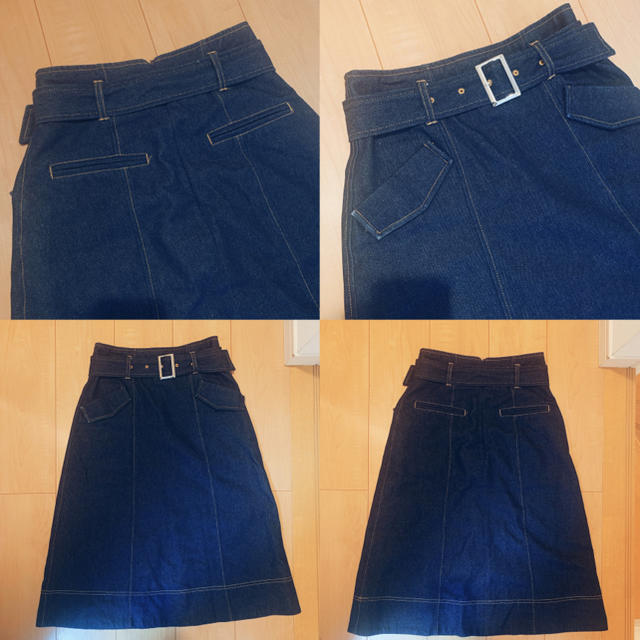 MISCH MASCH(ミッシュマッシュ)のミッシュマッシュ デニムミディスカート レディースのスカート(ひざ丈スカート)の商品写真