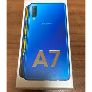 Galaxy - Garaxy A7 64GB ブルー