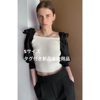 ZARA - ZARA コントラストディティール入りセーター
