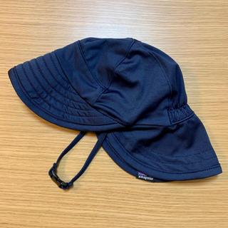 パタゴニア(patagonia)のパタゴニア ベビー キャップ 帽子 日除け ネイビー ブルー 水色(帽子)