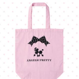 アンジェリックプリティー(Angelic Pretty)のAngelic pretty オリジナルプードルプリントトートバッグ(トートバッグ)