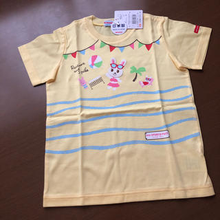 mikihouse - 半額以下 ミキハウスTシャツ110cm 新品