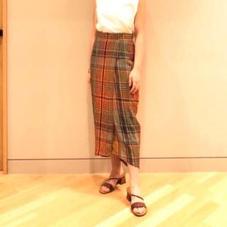 デミルクスビームス(Demi-Luxe BEAMS)の【新品】デミルクスビームス  別注チノ スカート(ロングスカート)