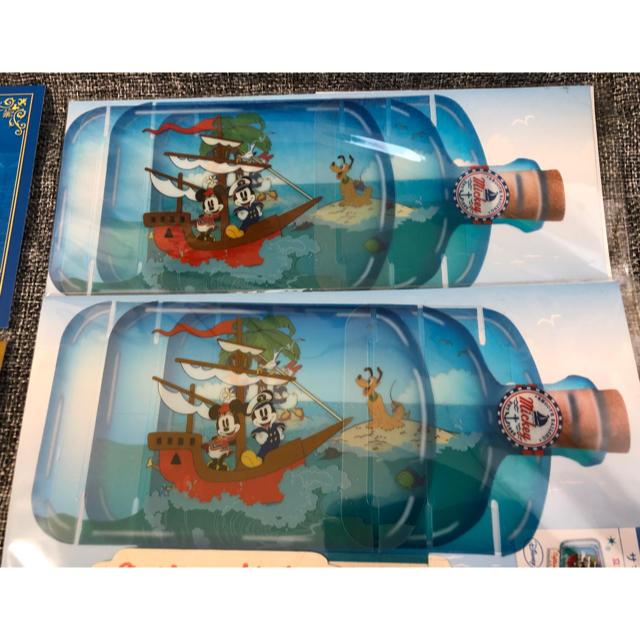 Disney(ディズニー)のディズニー ボトルカード2セット ポストカード8枚 エンタメ/ホビーのアニメグッズ(カード)の商品写真