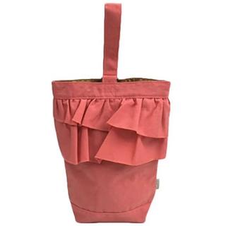 マーキーズ(MARKEY'S)の新品 オーシャンアンドグラウンド  フリル シューズバッグ ピンク(シューズバッグ)