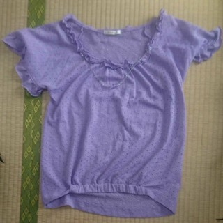 axes femme - 16、axes femme 紫色 カットソー